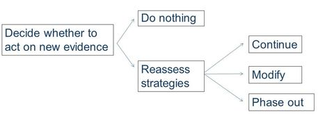 Evidence Decision Process